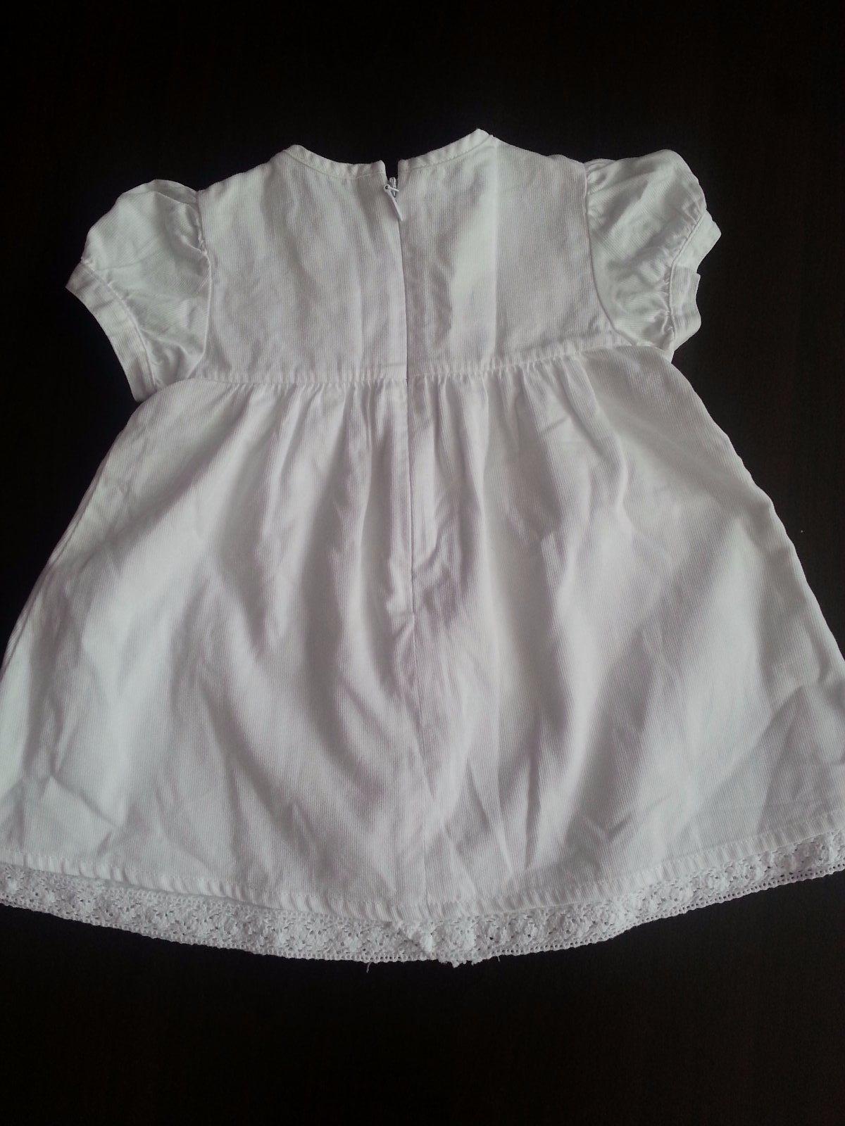 293271a4eec8 Biele šaty chicco- nenosené