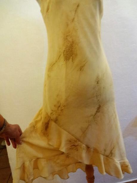 společenské šaty  svědkyně svatby šampaňo PC 800Kč, M