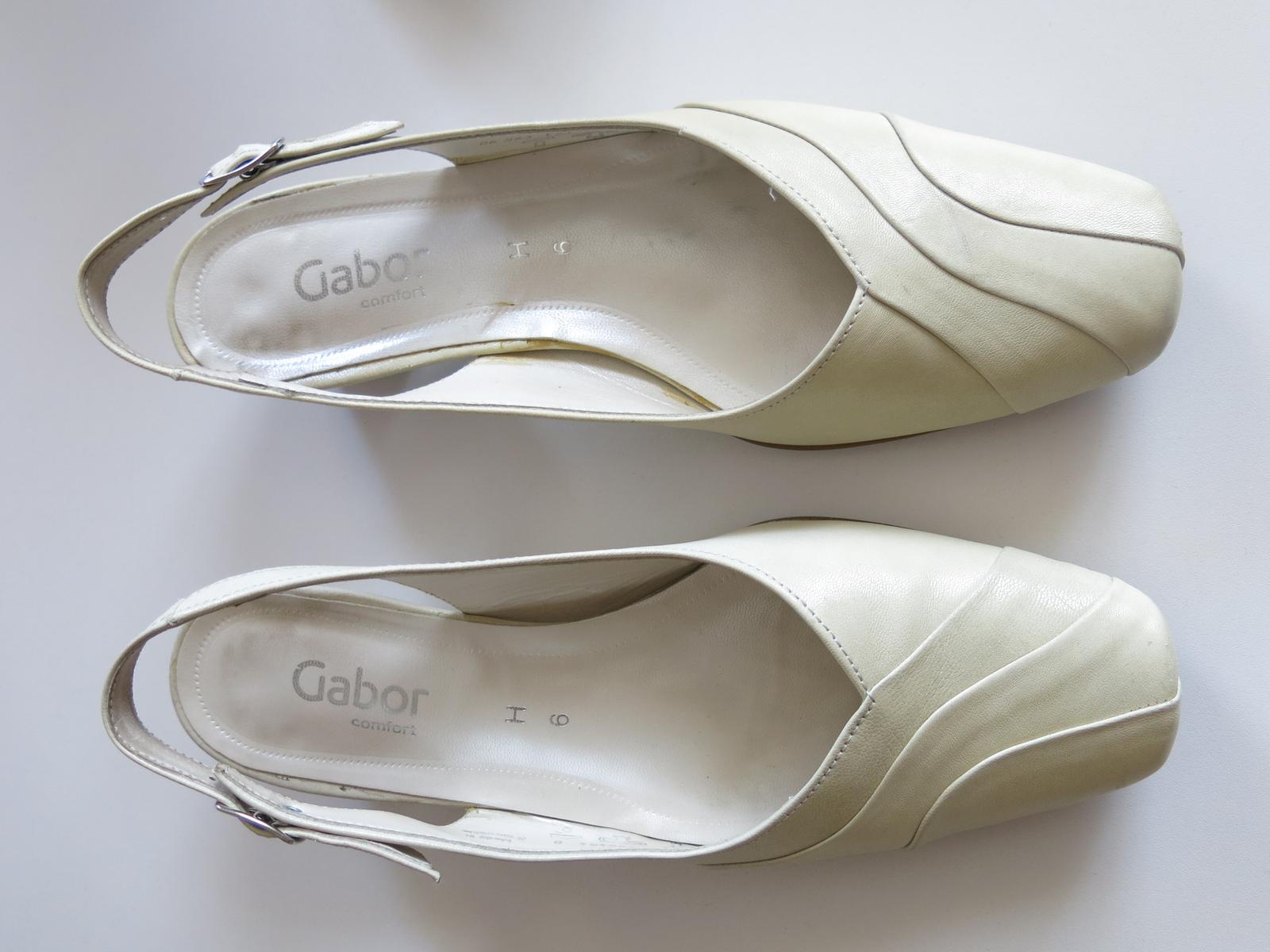 Kožené boty zn. gabor df249f4a53