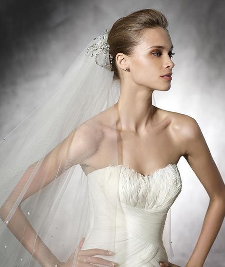 Svatební šaty Pronovias Ledurne originál, 38