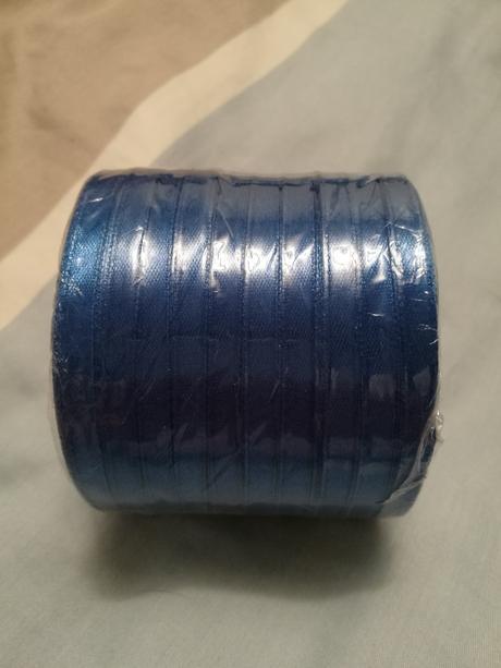 Tenké modré stužky 8mm 10ks,