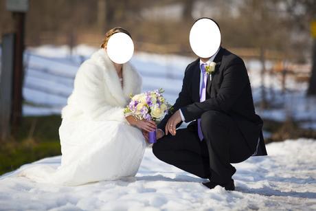 Svatební kožíšek,
