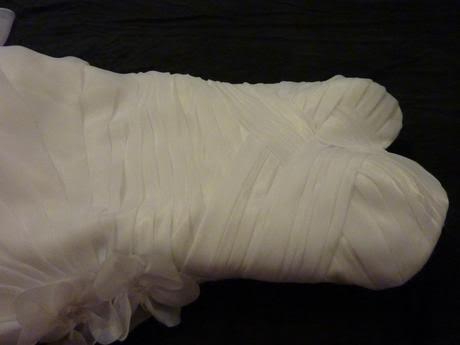 Svatební šaty korzetové, 38