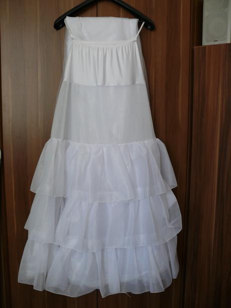 Svatební šaty Madora + vše okolo(44-48), 46