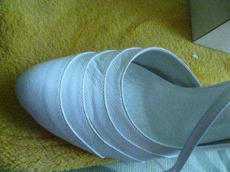 Koženskové svatební boty , 39