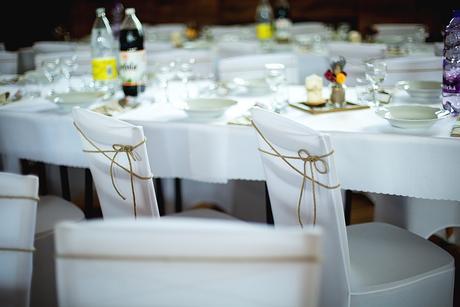 Rámiky na svadobné stoly 28 ks  - namiesto štóly,