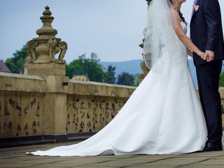 Svatební šaty Maggie Sottero 38, 38