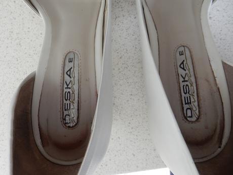 Svatební kožené lodičky značky Deska, vel. 40, 40
