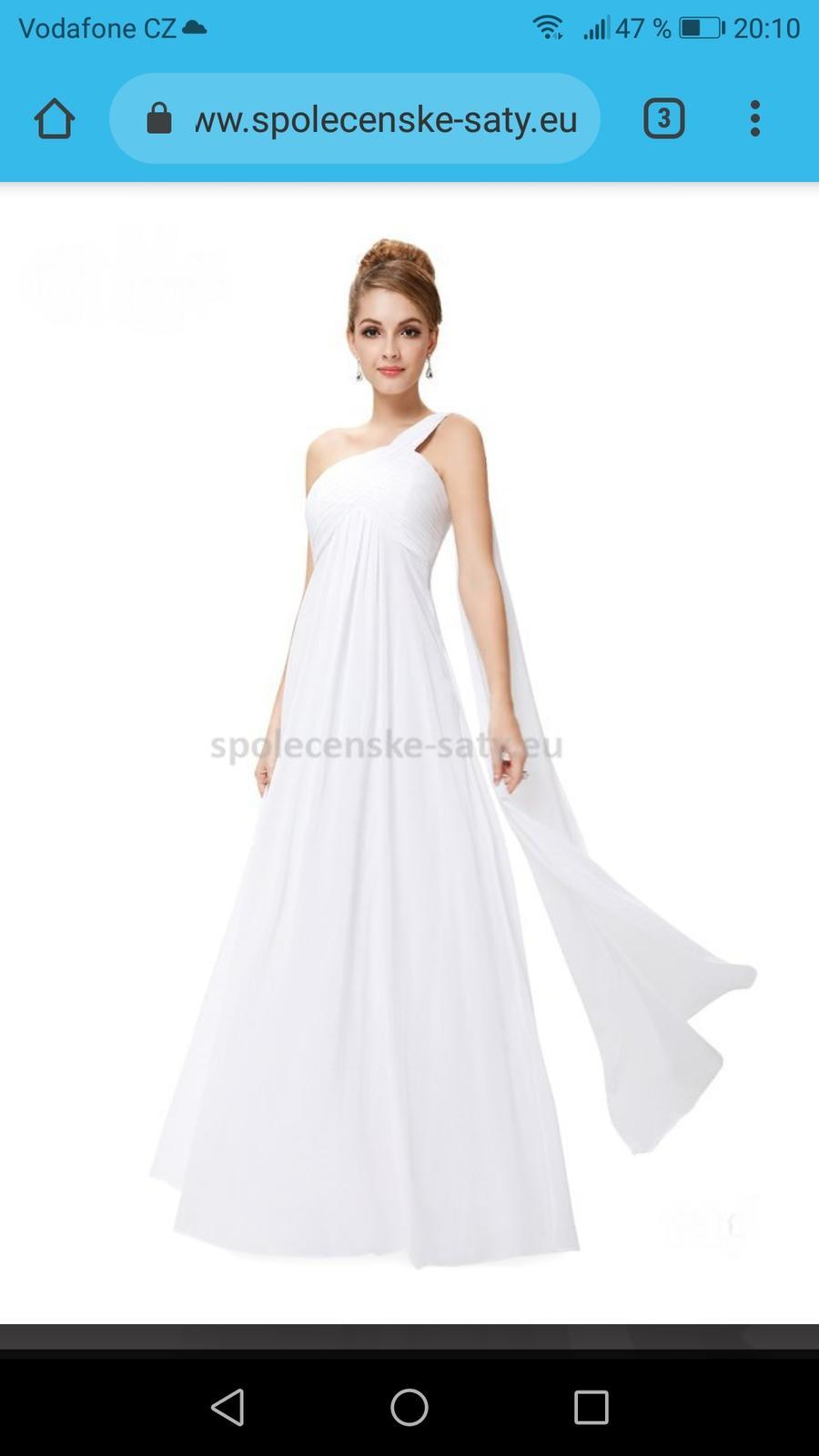 f886b6fb40da Svatební šaty i pro těhotné