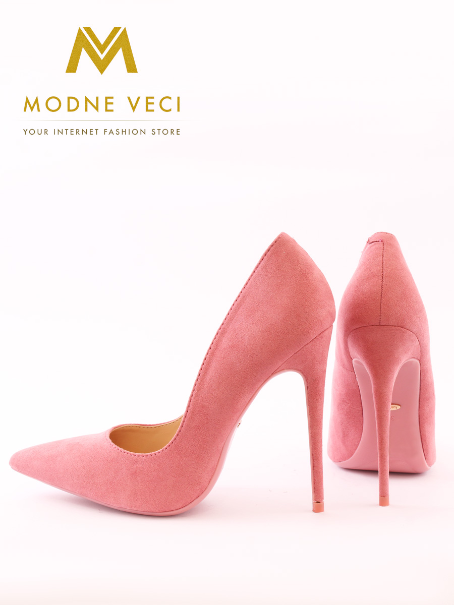 luxusné semišové ihličkové lodičky ružové 35-40 0cc5980517d