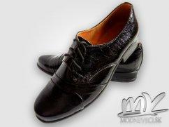 Chlapčenské detské spoločenské kožené topánky, 30