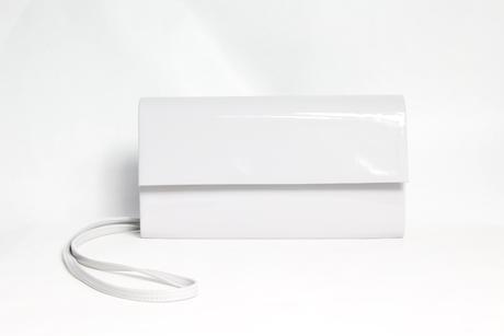 Dámska listová kabelka ETERNEL 77741 - biela,