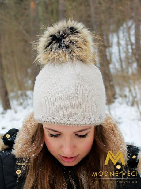 Dámska pletená čiapka UNI , M