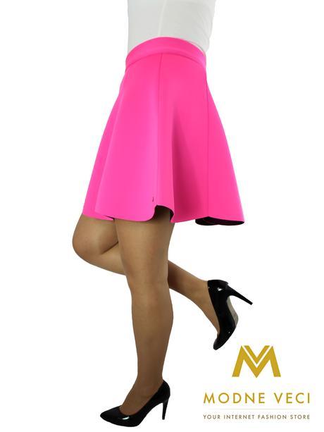 Dámska sukňa ružová neón 36, 40