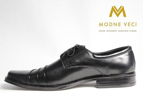 Elegantné topánky - kožené model 177 veľkosti 46-4, 49