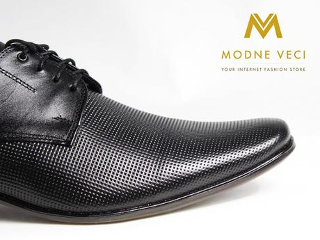 Elegantné topánky - kožené model 215, 40
