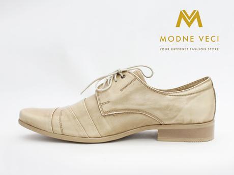 Pánske spoločenské kožené topánky , 42