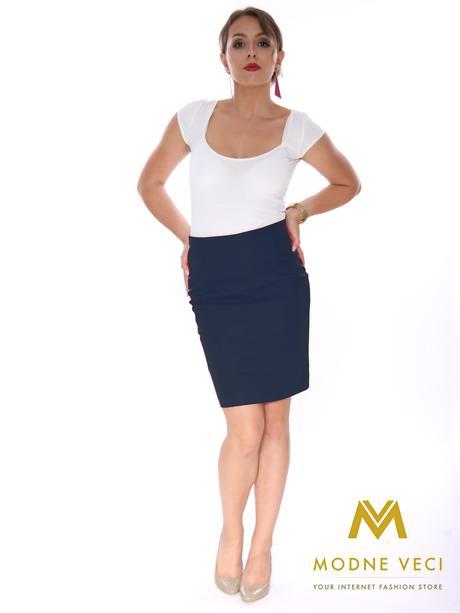 Púzdrová sukňa 38-52, L