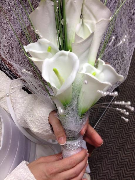Svadobna večná kytica,