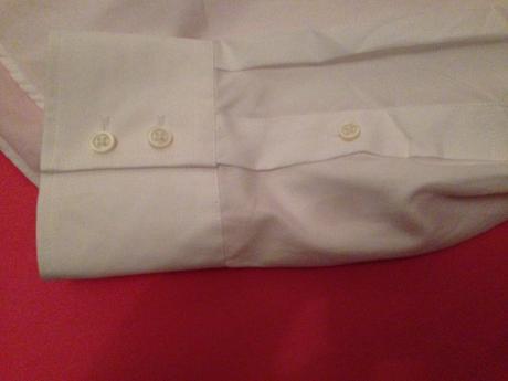 pánska biela košeľa, L