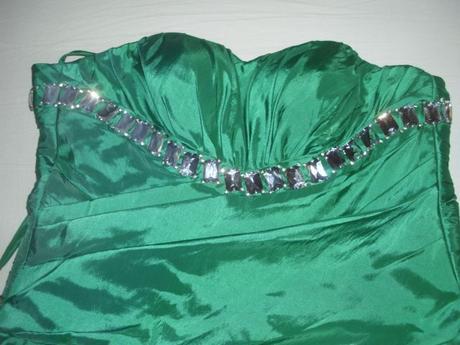 zelené šaty 38 - 40 - 42, 40