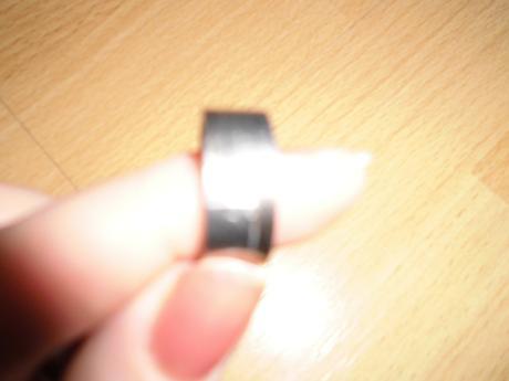 Prsten z chirurgickej ocele,