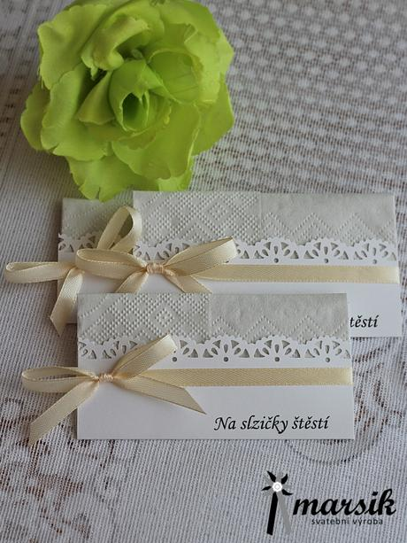 Svatební kapesníčky,