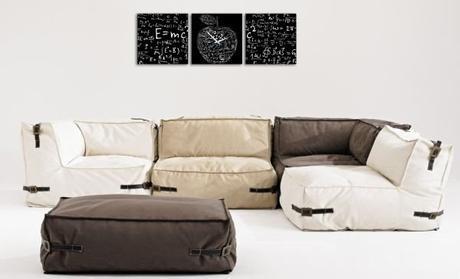 3 dielne obrazové hodiny Tabuľa, 35x105cm,