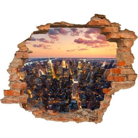 3D fototapeta, New York, 125 x100cm,