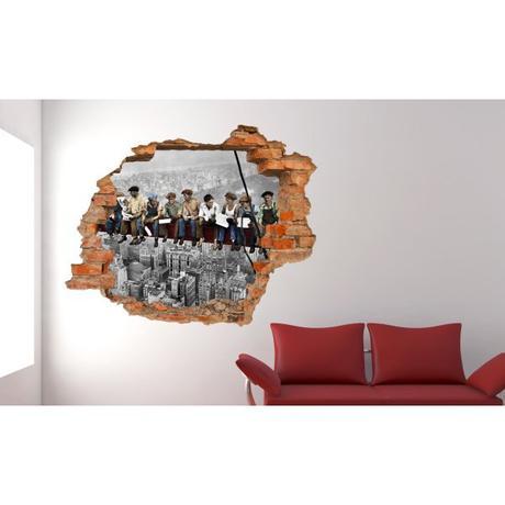 3D fototapeta, New York Robotníci, 125 x100cm,