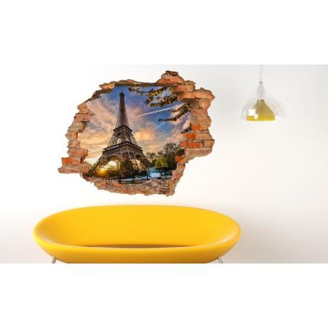 3D fototapeta, Paríž, 125 x100cm,