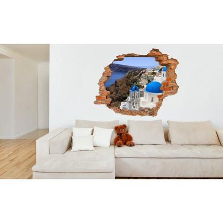 3D fototapeta, Santorini, 125 x100cm,