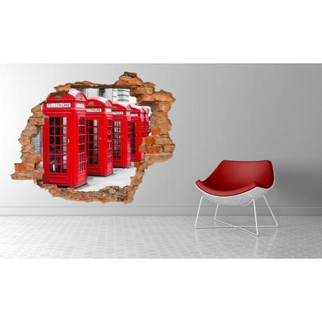 3D fototapeta, Telefón, 125 x100cm,