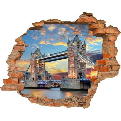 3D fototapeta, Tower Bridge, 125 x100cm,