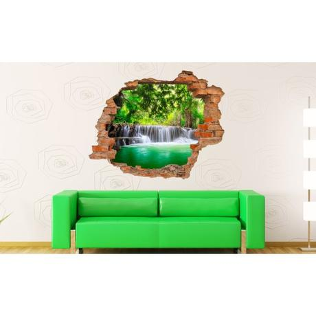 3D fototapeta, Vodopády, 125 x100cm,