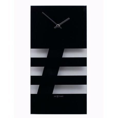 Bold Stripes kyvadlové nástenné hodiny ,