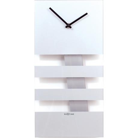 Bold stripes kyvadlové nástenné hodiny zrkadlové ,