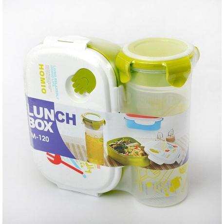 Box na jedlo + pohár na vodu, sada Promis,