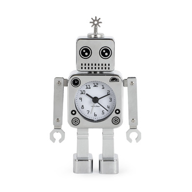 Budík BALVI Roboclock  robot 20cm,