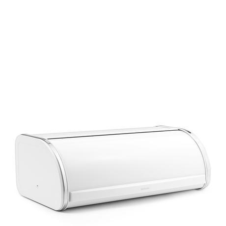 Chlebník Brabantia Roll Top, biela,