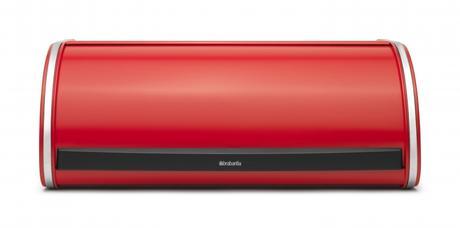 Chlebník Brabantia Roll Top, červená,