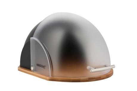 Chlebník Kinghoff design, KH212, čierny,
