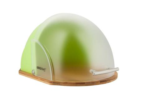 Chlebník Kinghoff design, KH212, zelený,