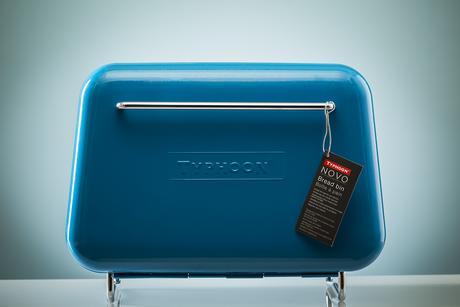 Chlebník TYPHOON Novo Bread Bin, modrý,
