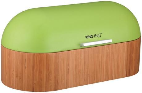 Chlebník značky KING HOFF zelený,