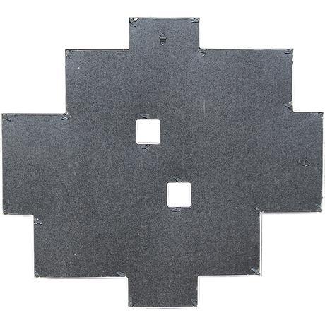 Čierny multirám na 10 fotiek, 55x50cm,
