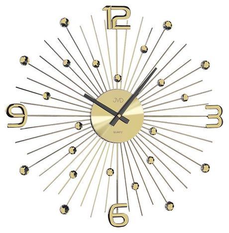 Crystal nástenné hodiny JVD HT074.1 49 cm,