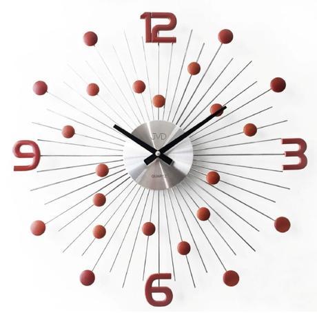 Crystal nástenné hodiny JVD HT074.3 49 cm,