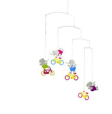 Cyclephants  60x50cm zavesna dekoracia,