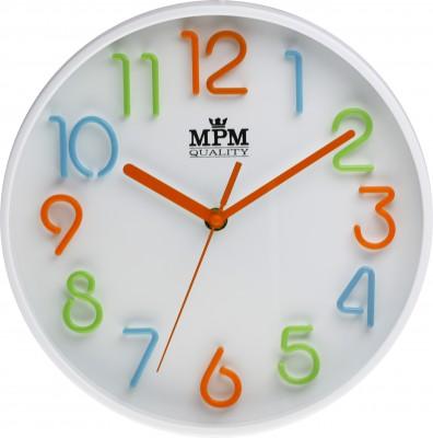 Detské hodiny na stenu MPM, 3224, 25cm,